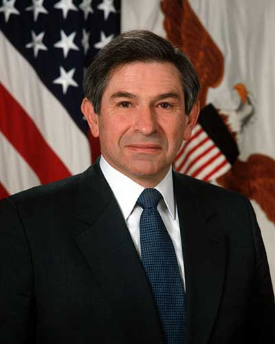 Biography Of Paul Wolfowitz
