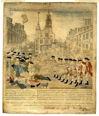 Boston Massacre Timeline