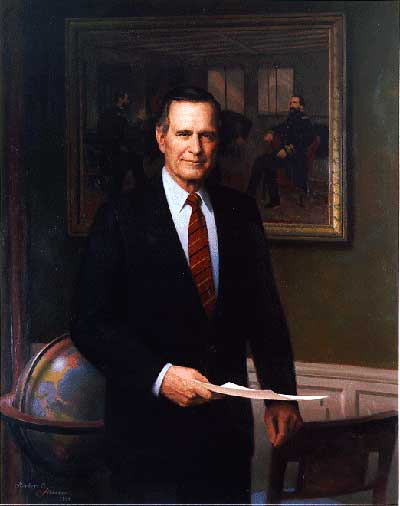 George H Bush Campaign As President