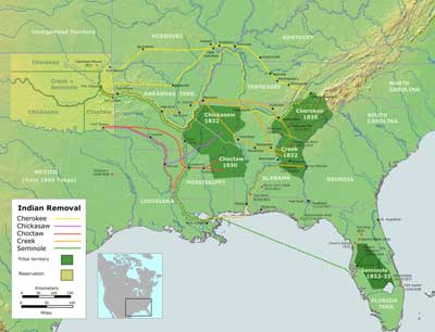 History Of Trail Of Tears