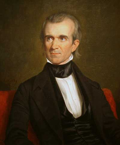 How-Many-Years-Was-James-K-Polk-In-Office