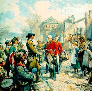 What Countries Fought In The Revolutionary War ?