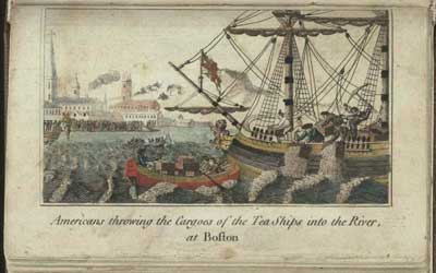 Where Did The Boston Tea Party Take Place ?