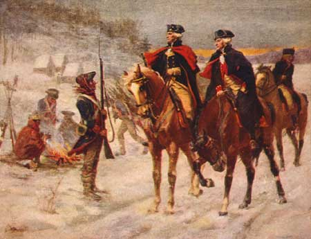 Where Did The Revolutionary War Take Place ?