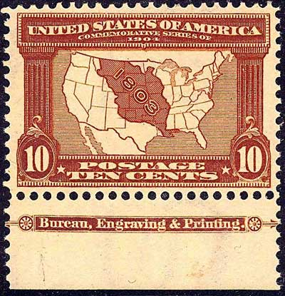 a history of the louisiana purchase in the united states 1803 – the purchase of louisiana by the united states was announced 1803 – spain refused lewis and clark permission to travel up the missouri river, since the transfer from france to the united states had not been made official they spent the winter in illinois at camp dubois.