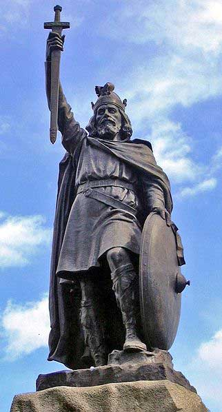 Why Was King Alfred Called The Great ?